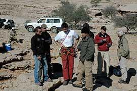 Felix Baumgartner Oman Projekt