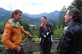 Vera Rußwurm - Dreh mit Heli