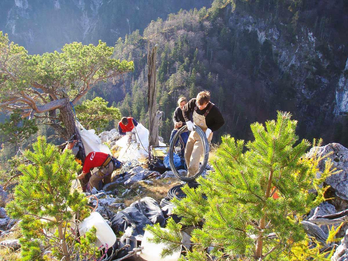 Klettersteig Bad Ischl : Alpine montagen outdoor leadership