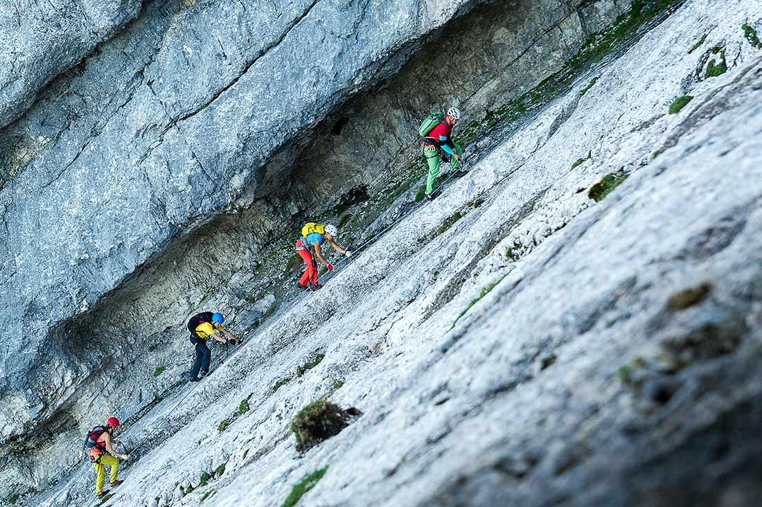 Klettersteig Unfall : Klettersteig outdoor leadership