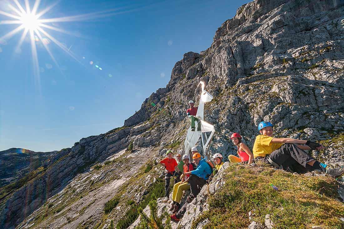 Klettersteig Hallstatt : Klettersteig outdoor leadership