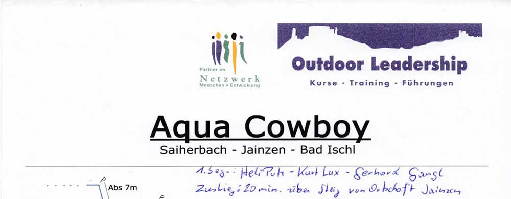 Bad Ischl Canyoning Aqua Cowboy
