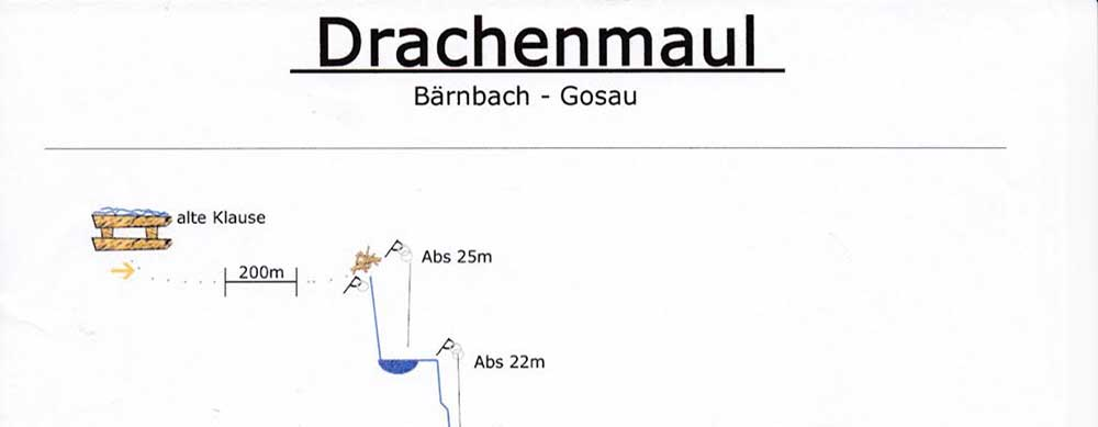 Gosau - Canyoning - Drachenmaul