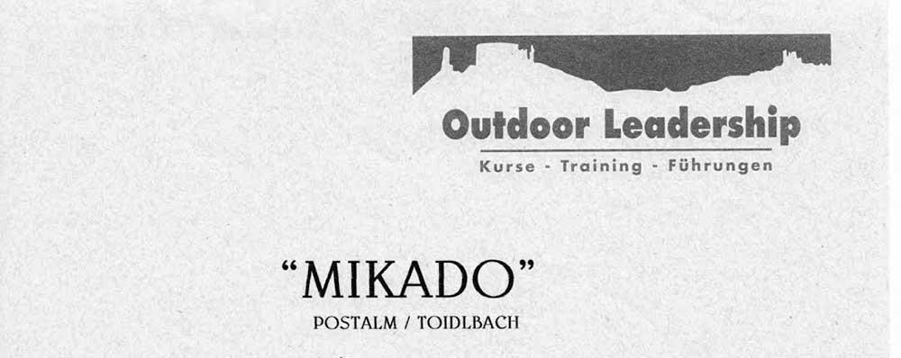 Wolfgangsee - Postalm - Canyoning - Mikado