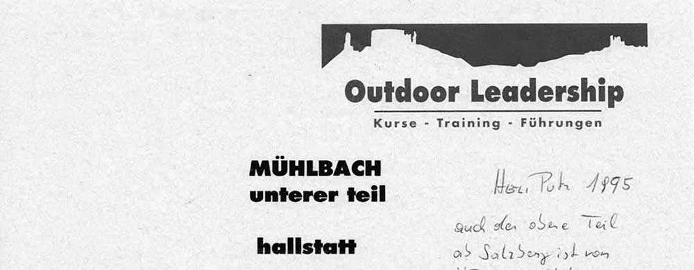 Hallstatt - Canyoning - Muehlbach