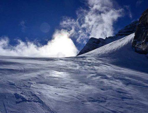 Gipfel und Orte auf der Route