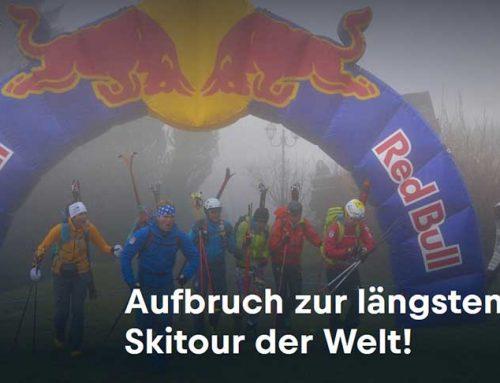 Aufbruch zur längsten Skitour der Welt