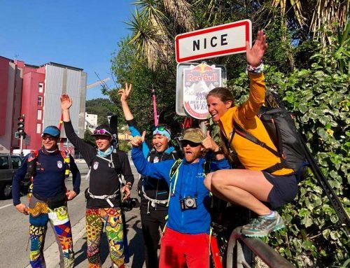 RedBullDerlangeWeg – Zielankunft in Nizza