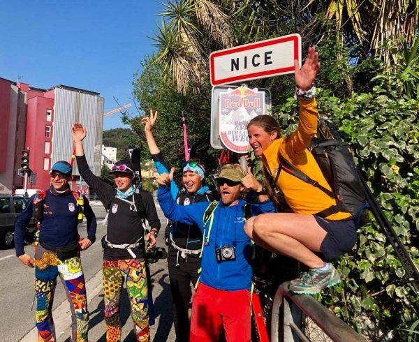 RedBullDerlangeWeg Zielankunft in Nizza