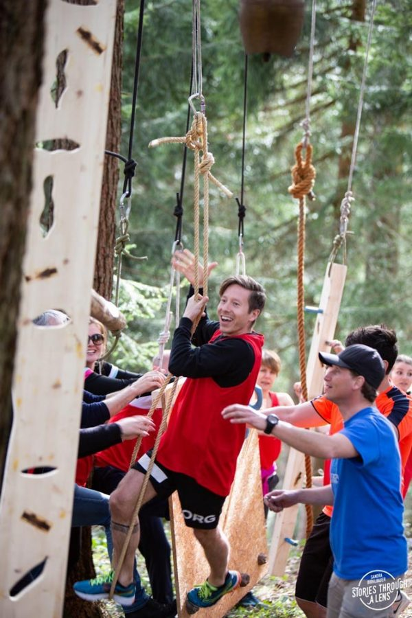 Outdoor Leadership hanging elements