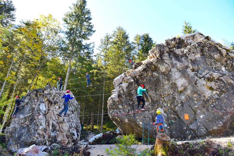 Schulsport - Klettergarten