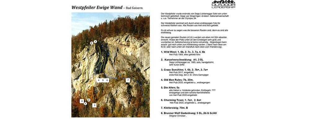 Outdoor Leadership - WestPfeiler-EwigeWand