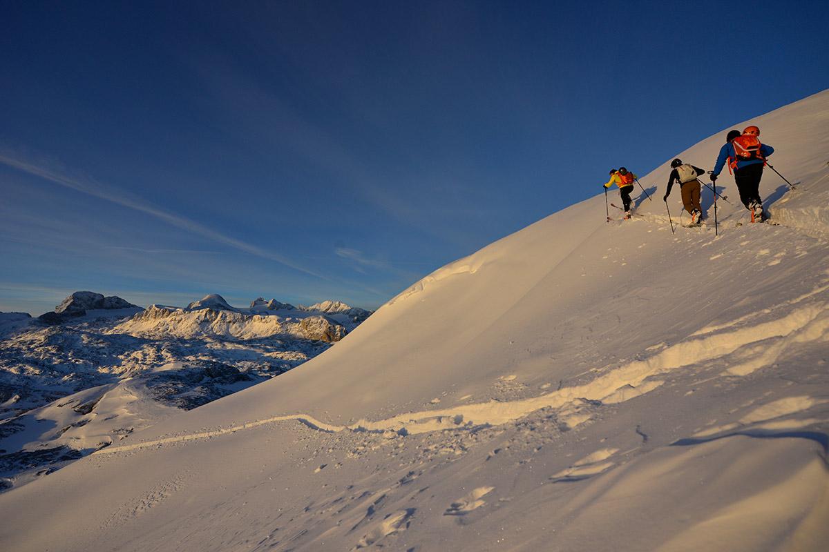 Outdoor Leadership - Ausbildung / Kurse Skitouren für Fortgeschrittene